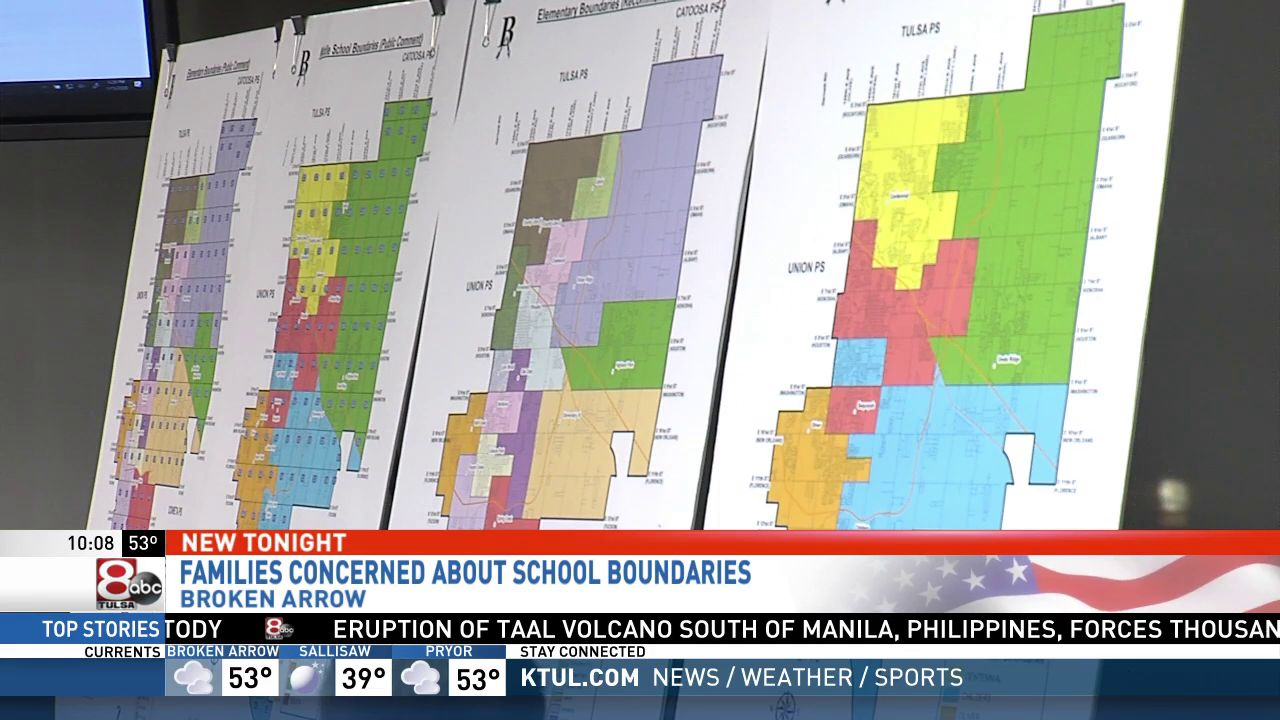 A long-range planning committee presented their second attempt at school boundaries for the next school year. (KTUL)<p></p>