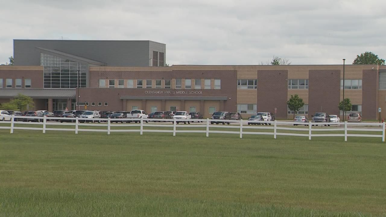 Students at Olentangy Hyatts Middle School have been accused of putting bodily fluids into food served to teachers. Photo Date: May 20, 2019. (WSYX/WTTE)