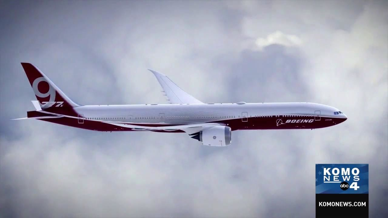 Boeing 777X animation (Boeing Animation)