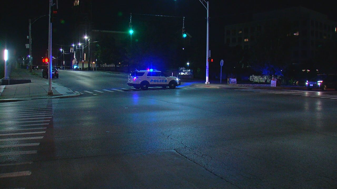 Two people were taken to the hospital after a shootout near the University of Cincinnati's campus early Sunday morning.{ } (WKRC)