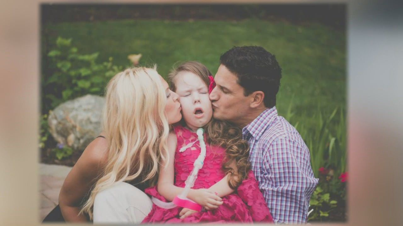 A new treatment for a genetic disease called SMA, or spinal muscular atrophy, is giving parents hope for their children. (Annie Landefeld)