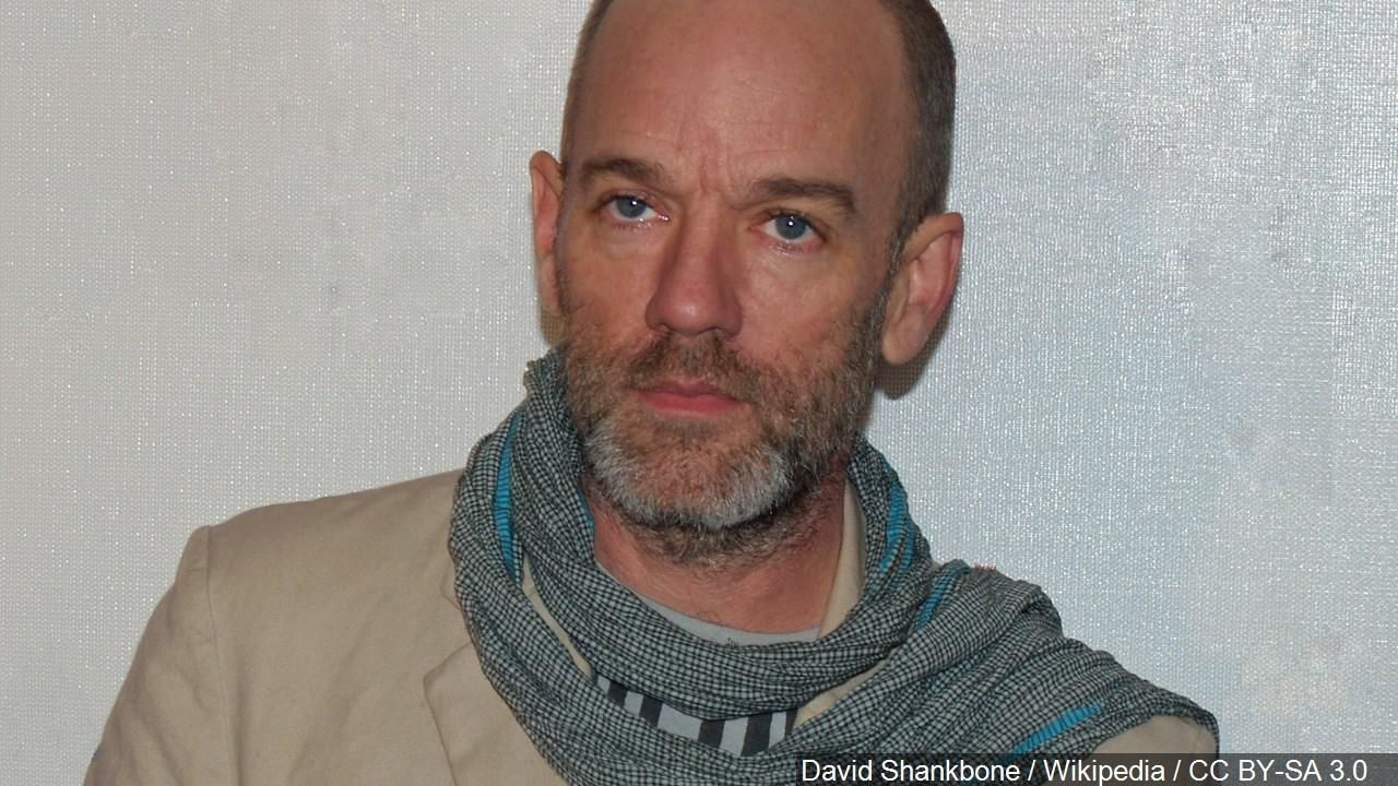 Michael Stipe is an American singer songwriter, musician, film producer, music video director and visual artist. And was the lead singer of the alternative rock band R.E.M. Photo Date: 4/27/07 (Cropped Photo: David Shankbone / Wikipedia / CC BY-SA 3.0 via MGN Online)