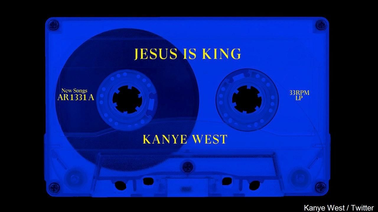 FILE - Kanye West's 'Jesus Is King' Arrives as His Record-Tying Ninth Consecutive No. 1 Debut on Billboard 200 Chart, (Photo: Kanye West / Twitter via MGN Online)<p></p>