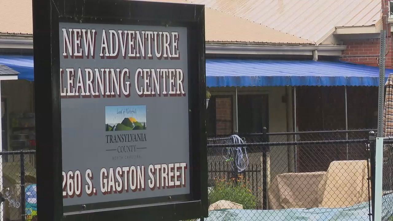 """Ultimately, anyone who needed testing was contacted by the health department,"" Transylvania County manager Jaime Laughter said after a child at New Adventure Learning Center in Brevard ested positive for COVID-19. (Photo credit: WLOS staff"