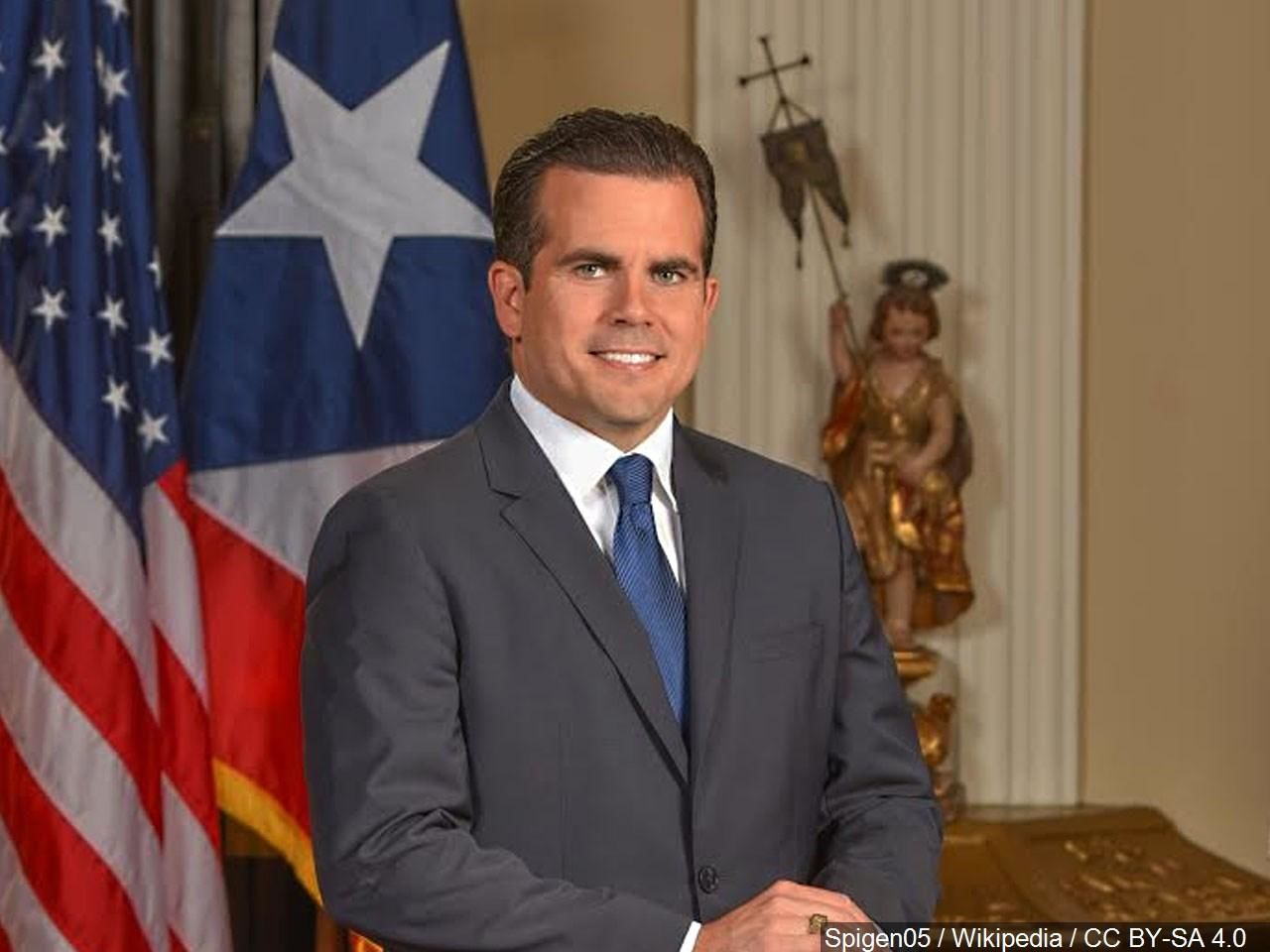 Puerto Rico's embattled governor says he will not seek re-election but will not resign as the island's leader, though he will step down as head of his pro-statehood party. (MGN){ }