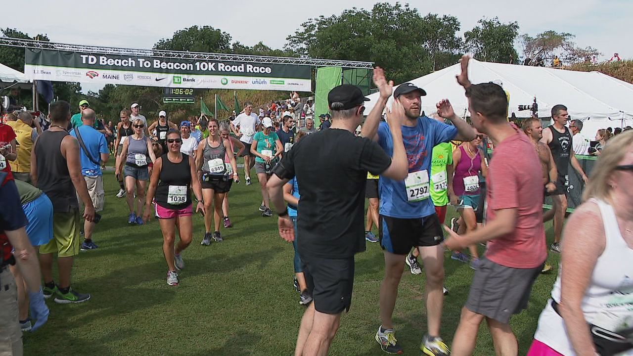 Runners embraced the good weather Saturday for the 22nd running of the TD Beach to Beacon 10K (WGME){&nbsp;}<p></p>
