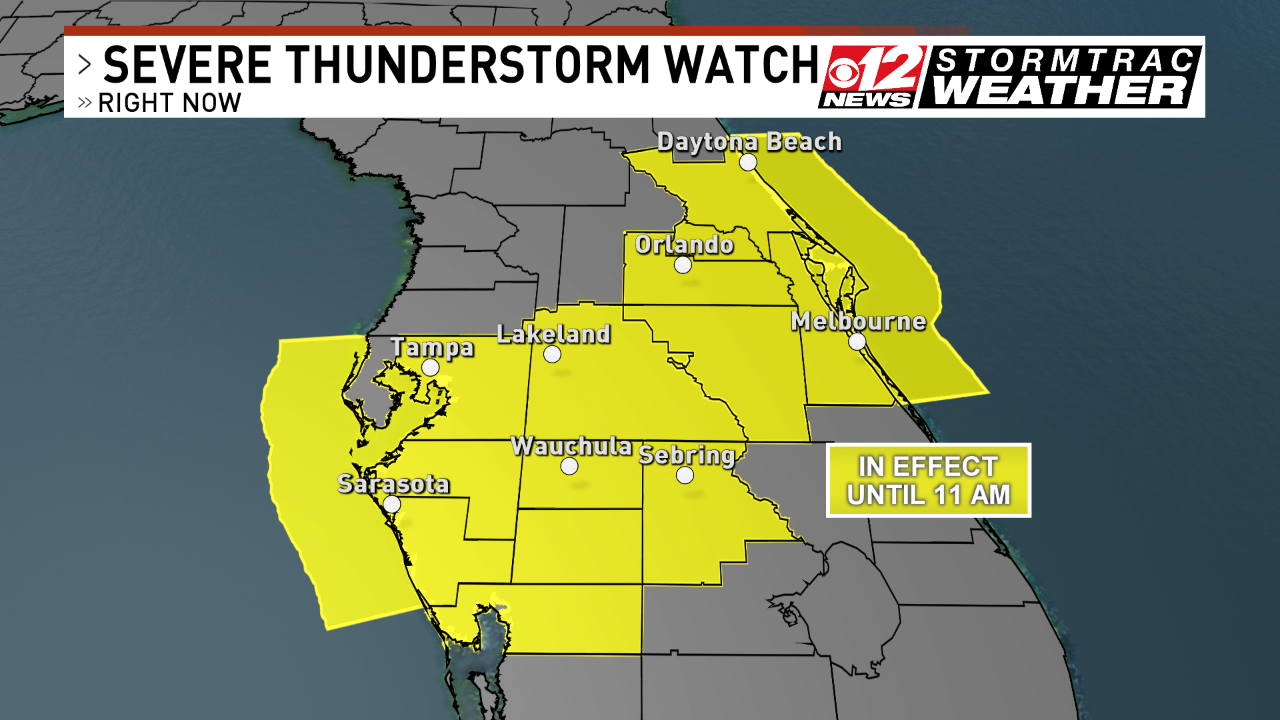 Severe Thunderstorm Watch (WPEC)