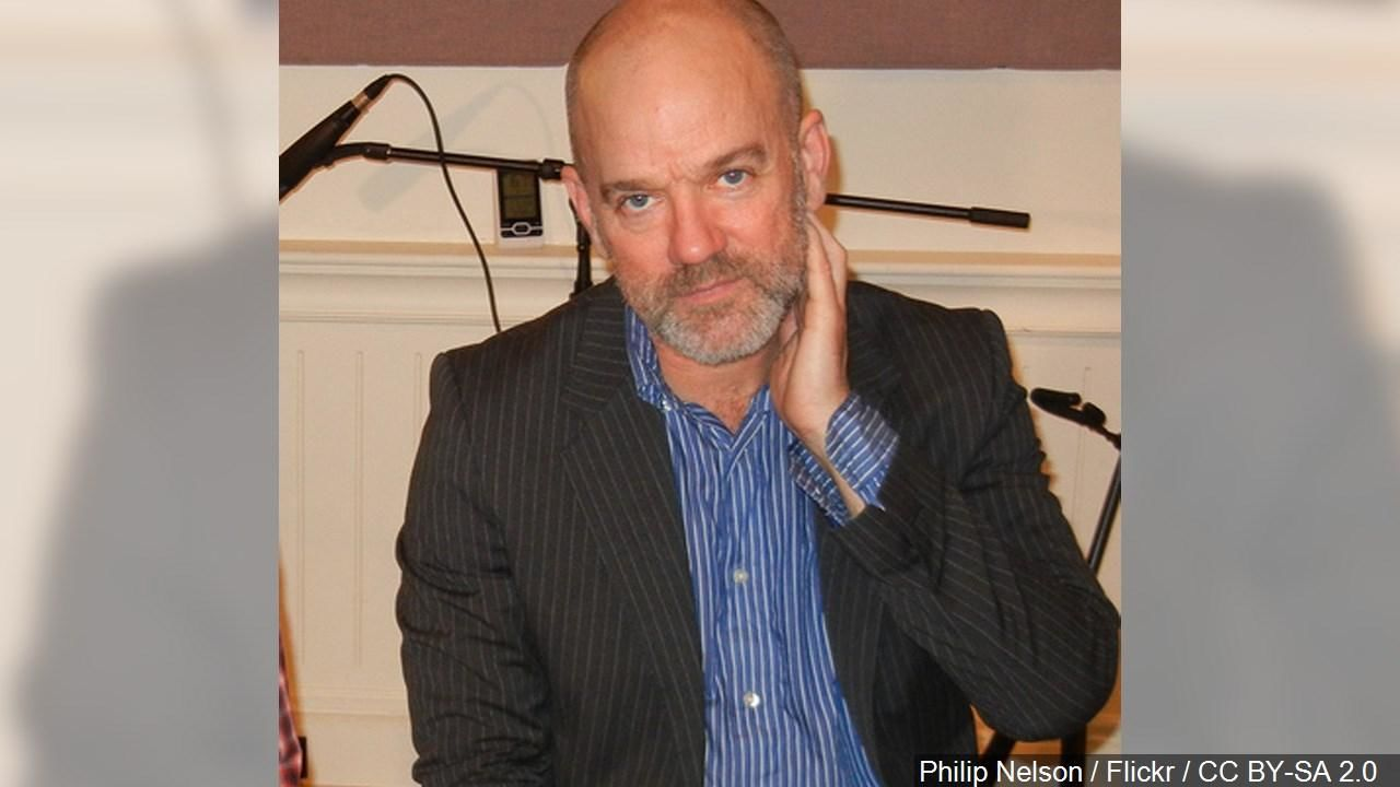 Michael Stipe is an American singer songwriter, musician, film producer, music video director and visual artist. And was the lead singer of the alternative rock band R.E.M.{ }Photo Date: 3/18/11 (Cropped Photo: Philip Nelson / Flickr / CC BY-SA 2.0 via MGN Online)