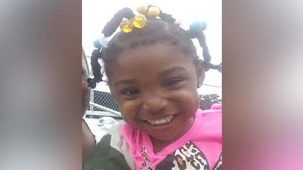Kamille Cupcake McKinney, 3, was last seen at a birthday party in Birmingham, Alabama. (WBMA photo)