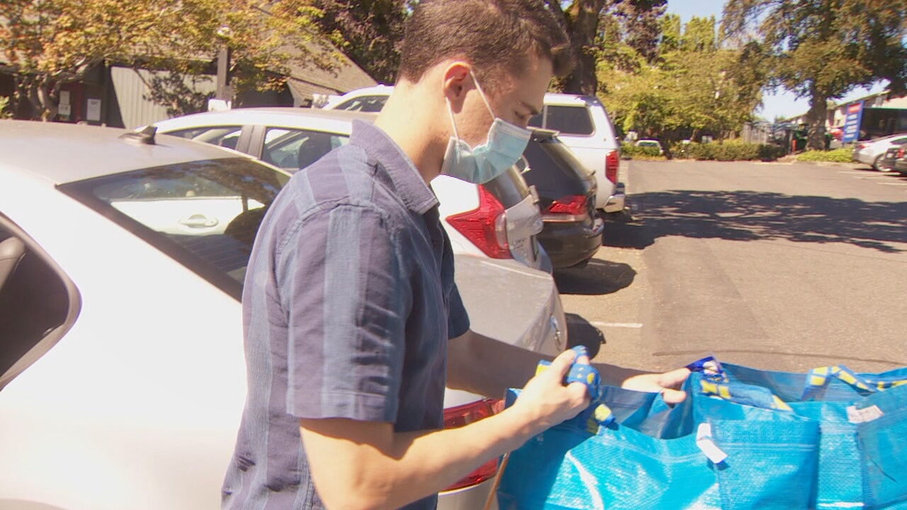 "<p>A spirit of community - caring about place and the people - drives him to volunteer. ""Volunteering really helps build community so I like to be a part of that..it really makes me feel complete,"" he said. (KATU)</p>"