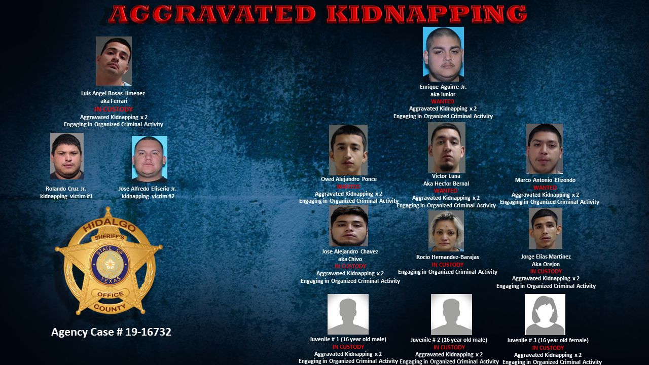 (Source: Hidalgo County Sheriff's Office)