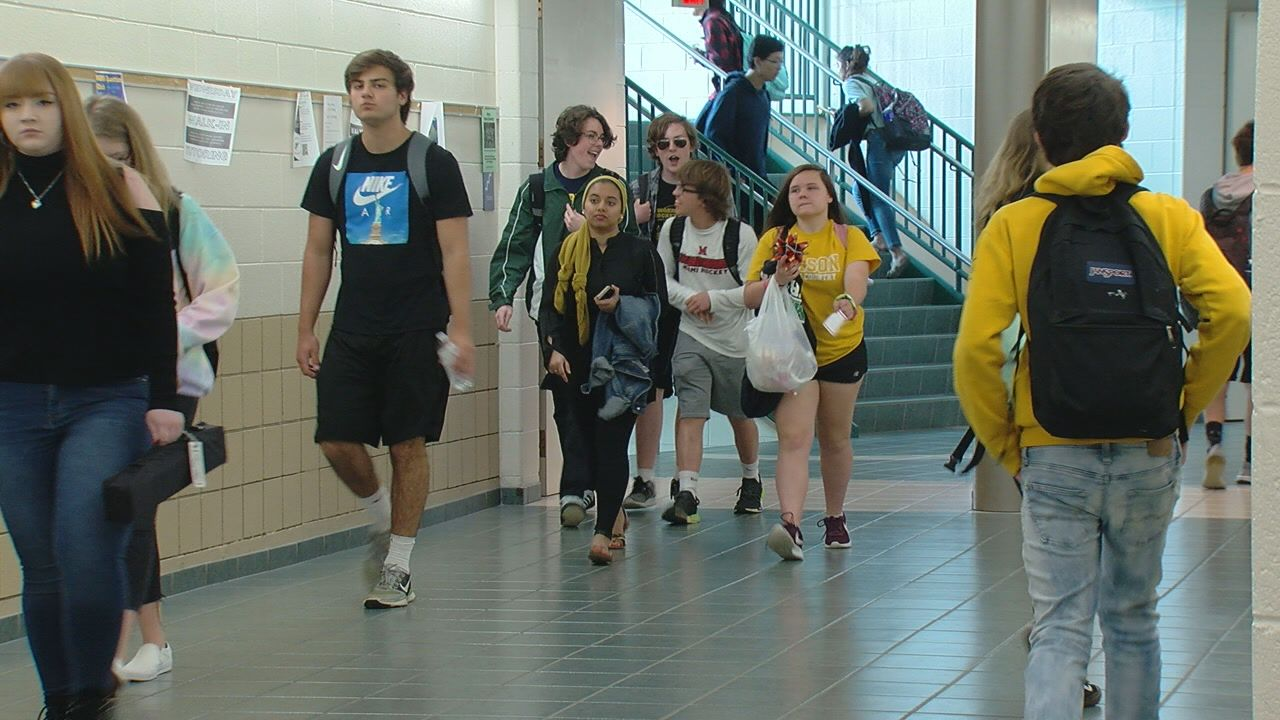 The class of 2020 at Mason High School will not have a valedictorian or salutatorian and will move to the Latin Honors System in an effort to reduce stress and anxiety among students, school officials announced this week. (WKRC)
