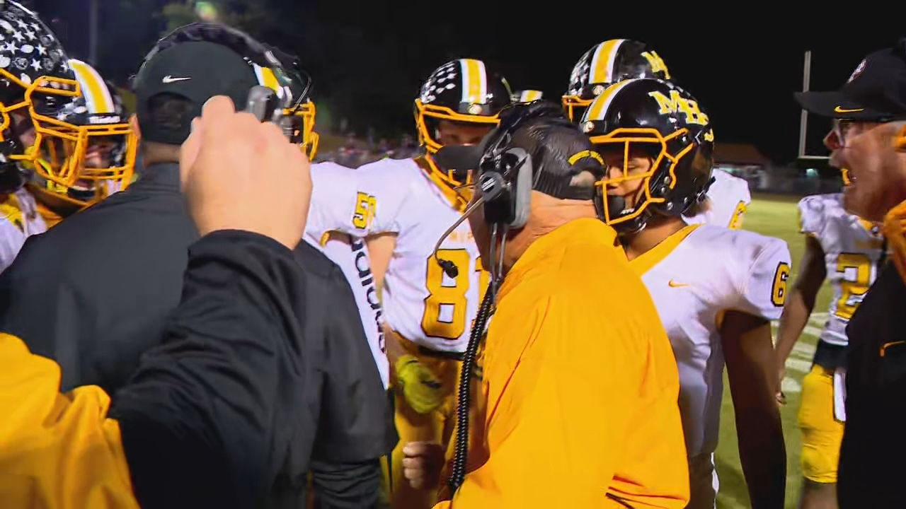 Murphy coach David Gentry now has more wins than any other high school coach in North Carolina history. (Photo credit: WLOS staff)