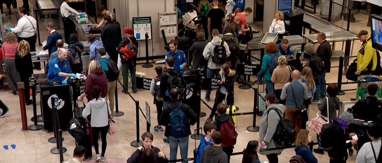 A U.S. appeals court says travelers can sue the government over mistreatment by federal airport screeners because the agents can act like law enforcement officers, including when they conduct invasive searches. (File Photo: KUTV)