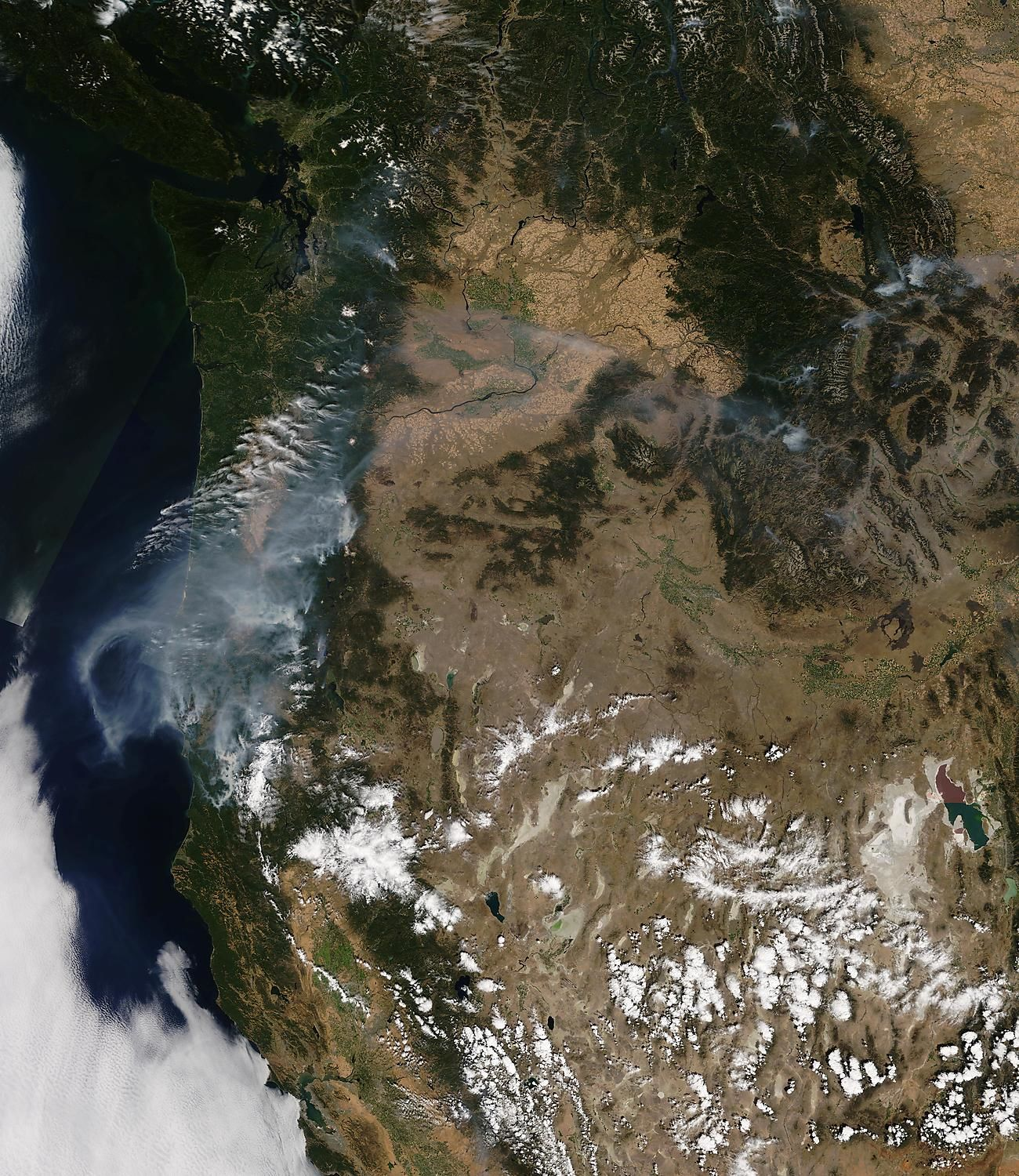 Portland's Air Quality Deteriorates With Wildfire Smoke