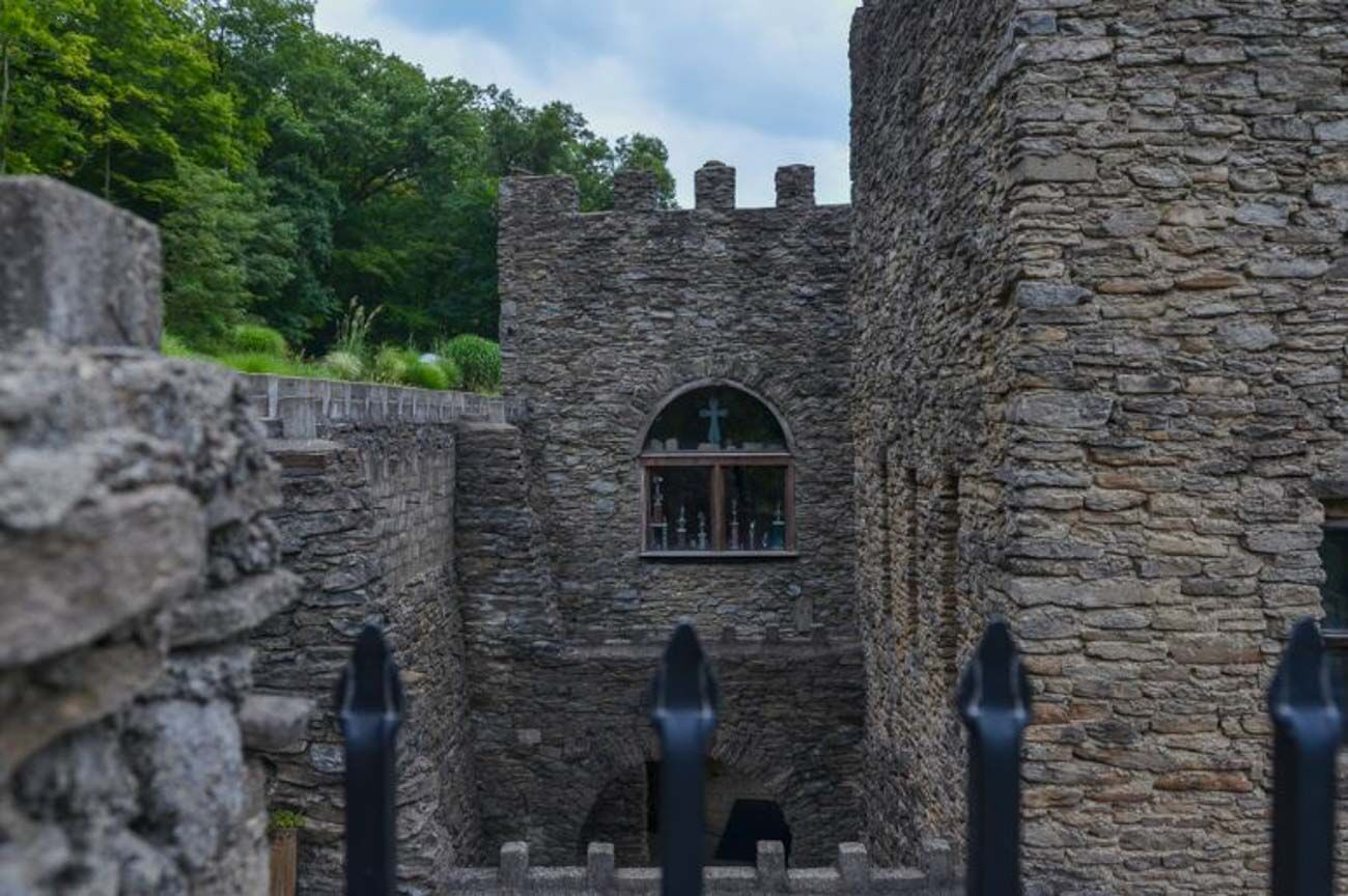 The Loveland Castle isn't shy about their supernatural reputation. Pictures of ghostly phenomena are displayed, stories are shared with guests, and they've even hosted overnight stays for groups of paranormal researchers who pay a donation to reserve the space. / Image: Sherry Lachelle Photography // Published: 10.17.20