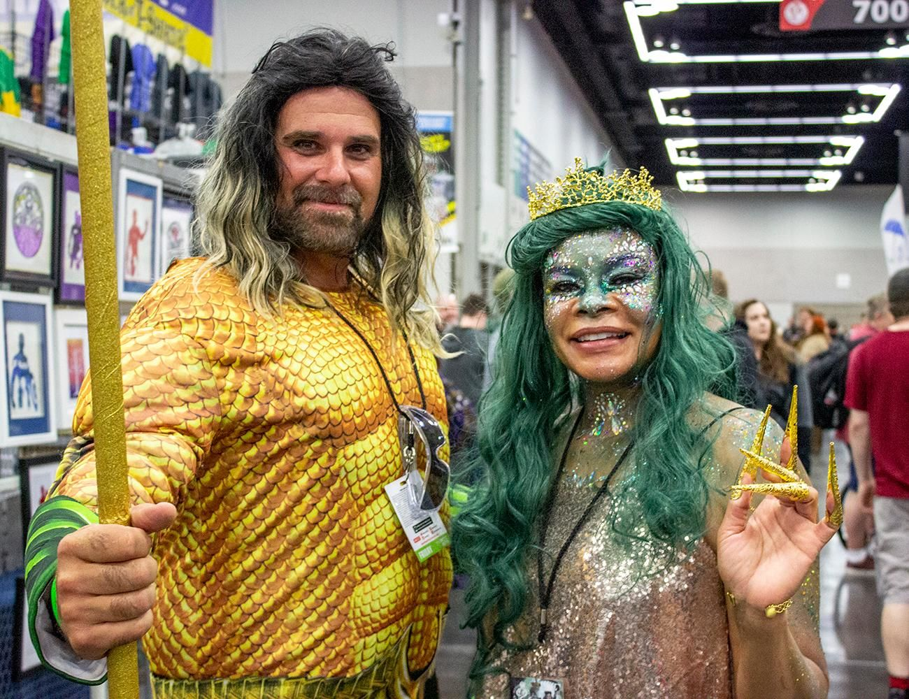 The Rose City Comic Con returned to the Oregon Convention Center on Friday, Sept. 13, 2019. Thousands dressed in cosplay to celebrate all things pop culture. The event continues through the weekend and will feature several celebrity guests. Photo by Amanda Butt