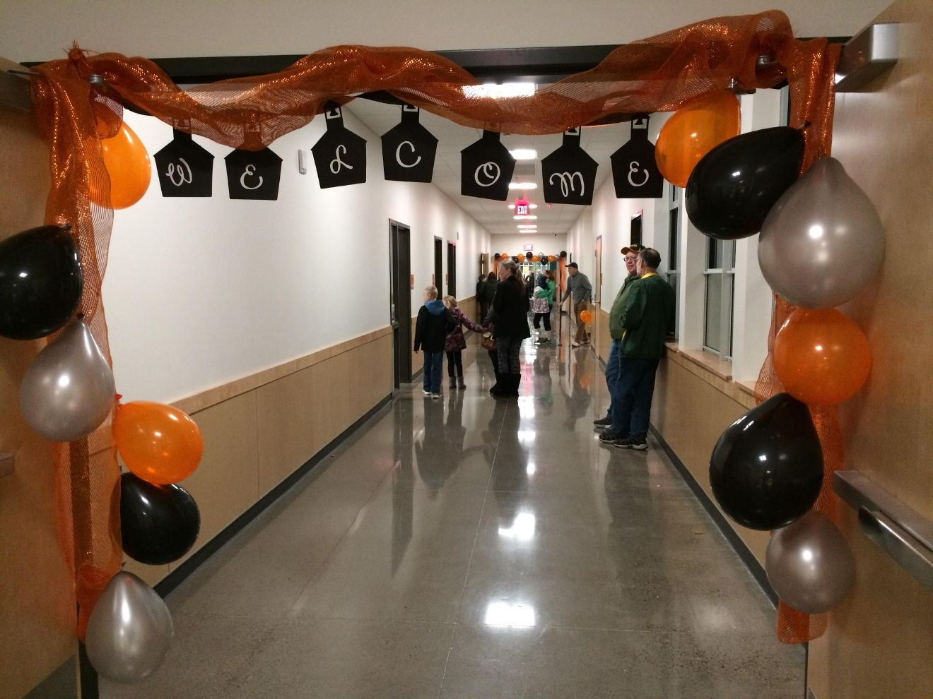 After years of learning in a school with holes in the floor and a broken heating system, students at Marcola Elementary were filled with joy and excitement at Thursday night's grand opening.  The new school cost over $7.5 million. The building was constructed thanks to a bond measure passed by Marcola residents in May 2015. (Emily Higgins/SBG)