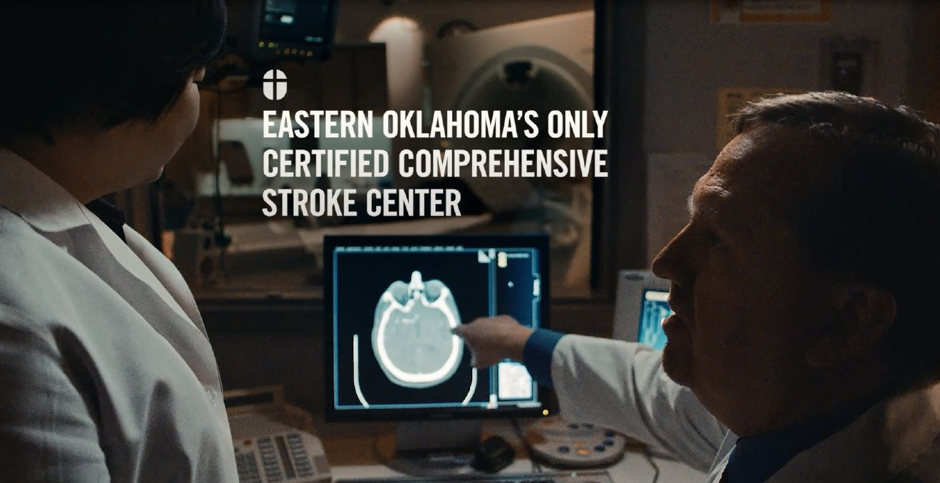 Easter Oklahoma's Only Certified Comprehensive Stroke Center