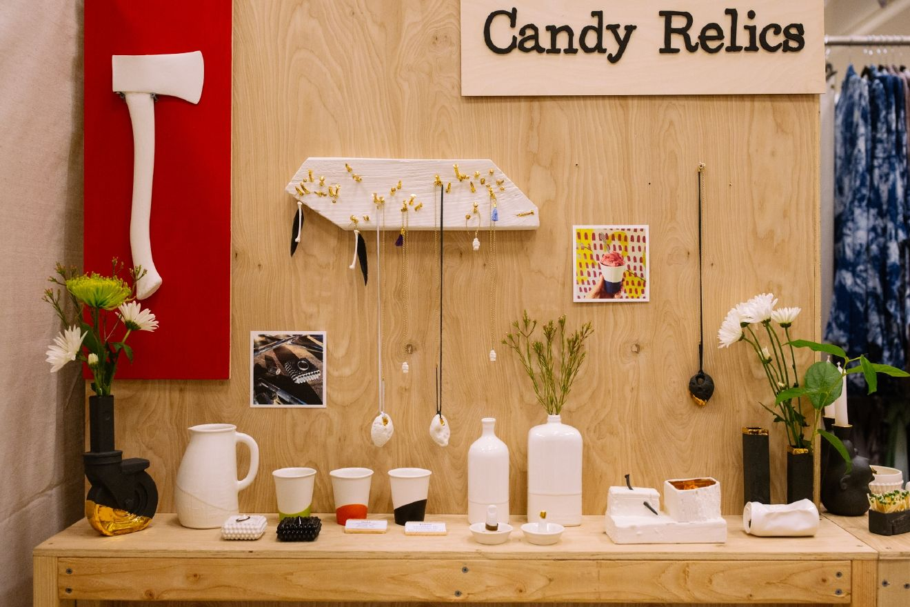 Candy Relics is a product design company making high fire porcelain ceramic home decor, handmade locally in Portland, OR by designer David Price. Learn more at http://candyrelics.com. (Image: Joshua Lewis / Seattle Refined)