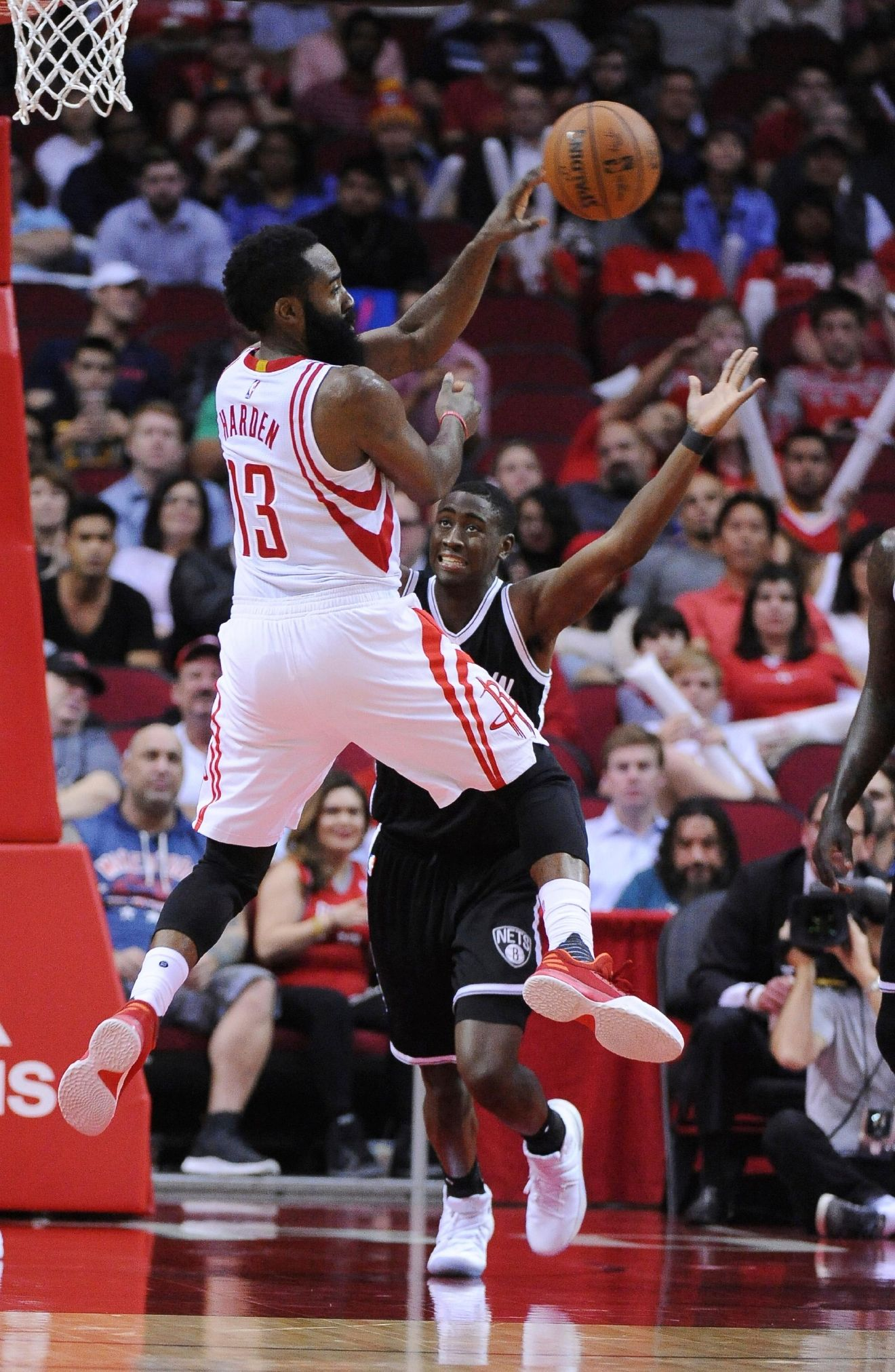 Harden leads Rockets past Nets for 7th straight win   WOAI