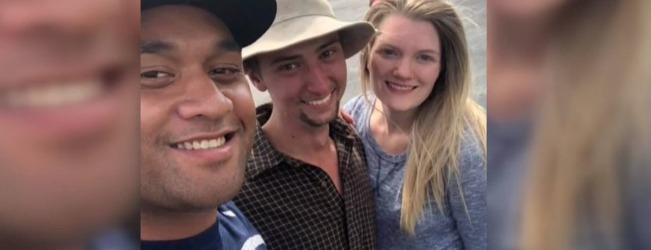 Kaden Laga from Utah County was reunited with his wife and family Friday afternoon after a harrowing week lost in the Bitterroot National Forest along the Idaho-Montana border. (Photo courtesy Search for Kaden Laga / via Facebook)