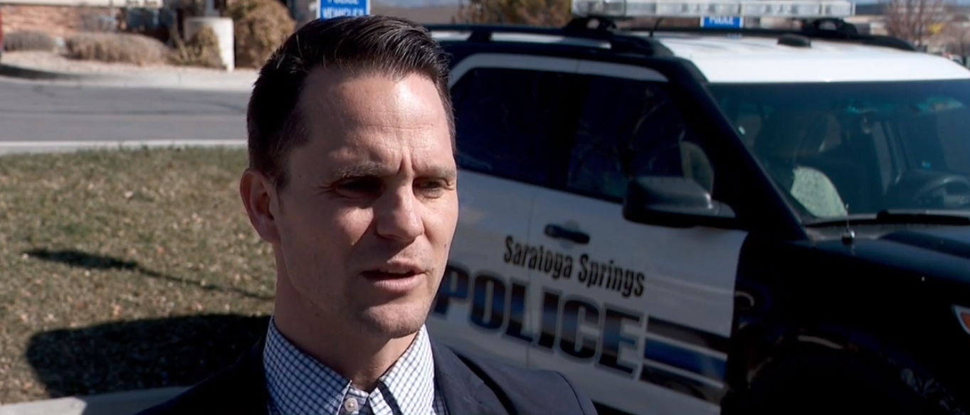 "The mother of an 8-year-old boy who was told to get into a stranger's vehicle in Saratoga Springs on Tuesday believes the people inside were ""out to take someone's child."" (Photo: KUTV)"