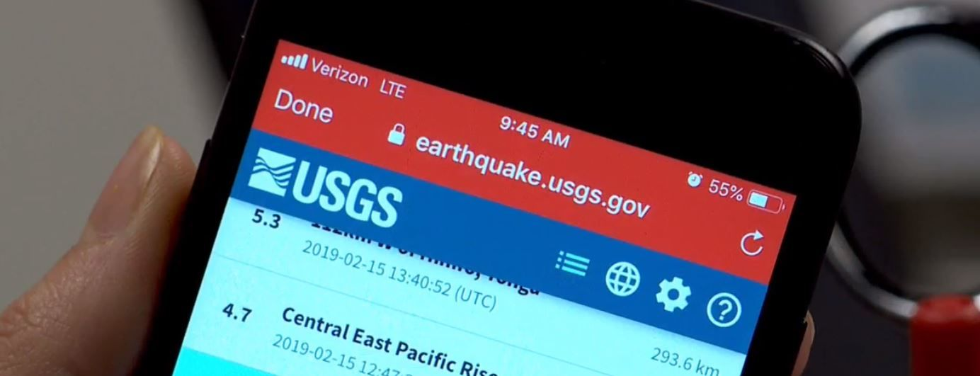 Preparedness expert Rich Woodruff with the American Red Cross says 'the big one' could hit Utah unexpectedly, just as the earthquake did Friday morning.  (Photo: KUTV)