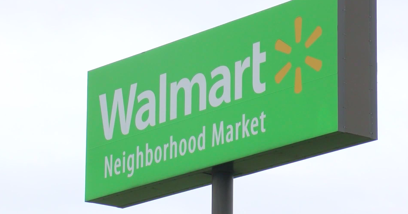 Police in Springfield, Missouri, say they have arrested an armed man who showed up a Walmart store wearing body armor, sending panicked shoppers fleeing the store. (KOLR/CBS Newspath)