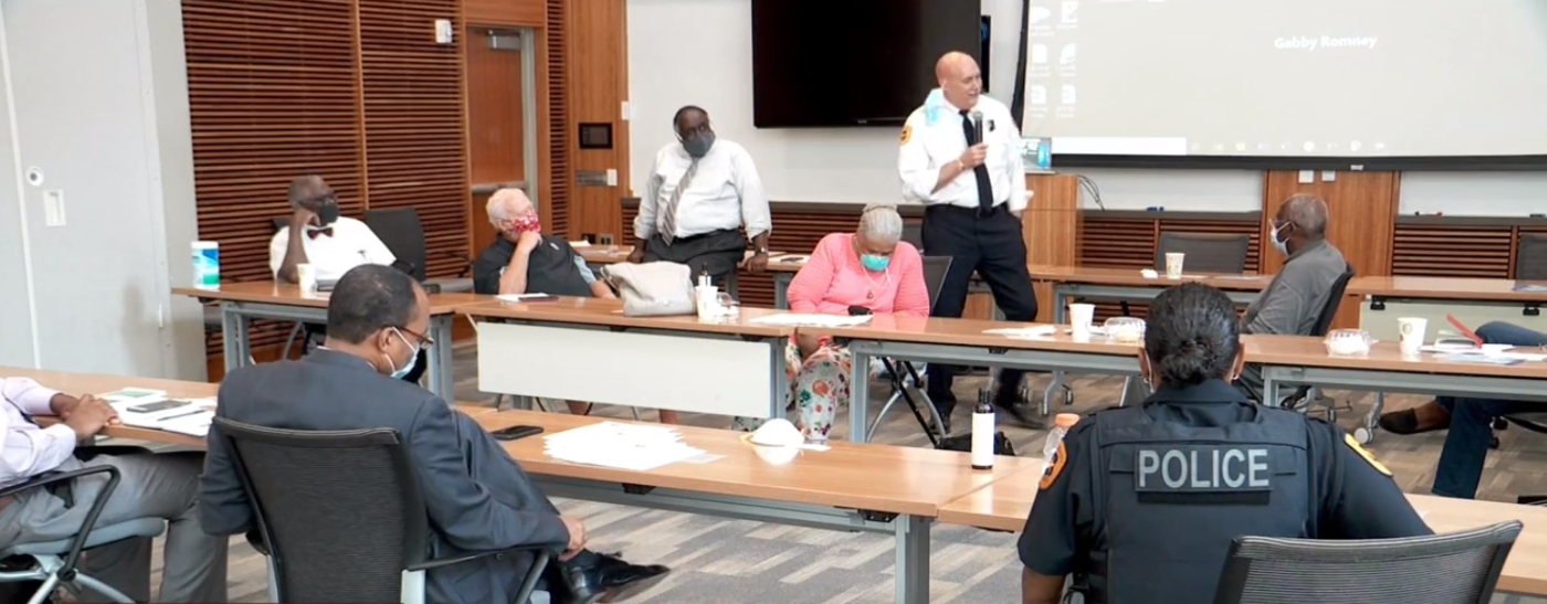 Chief Mike Brown hosts listening session about police use of force, POC experiences (Photo: KUTV)