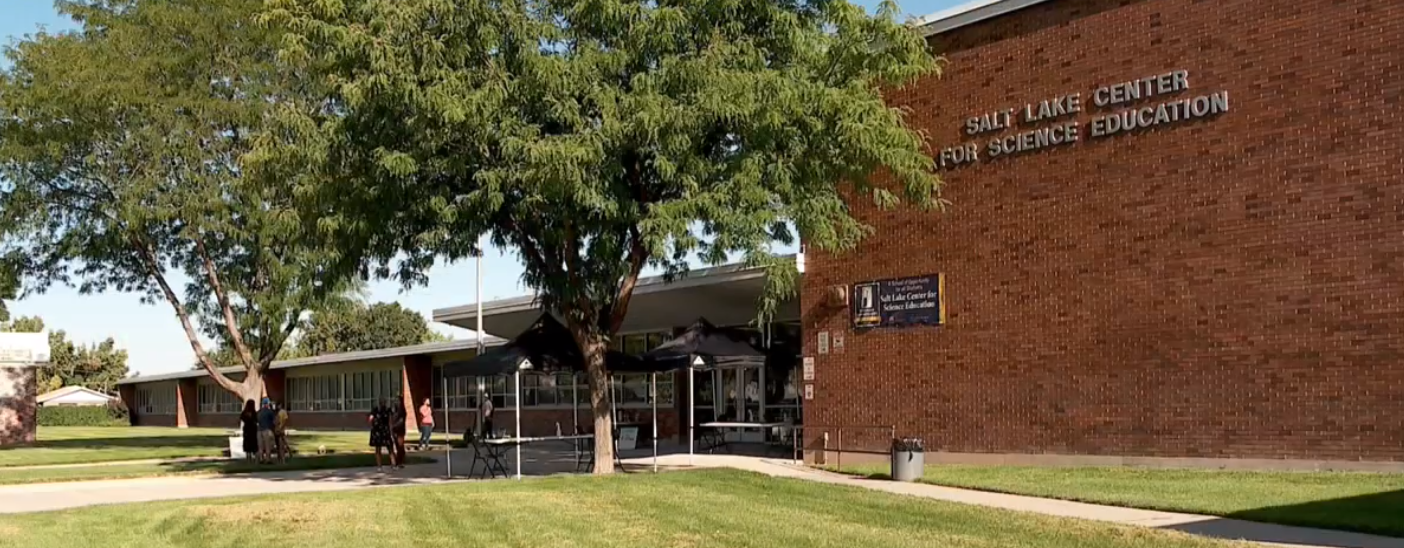 Taking the classroom outside. The idea is newer and comes at a time where there's concern about reopening plans across the state. (Photo: KUTV)