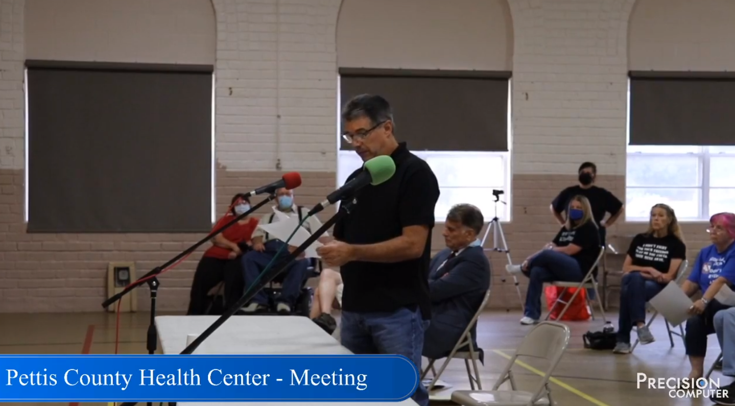 Wednesday August 5, the Pettis County Health Center (PCHC) voted on a mask order, and on Friday August 7, eight county residents sued the health center. (Photo: Precision Computer)