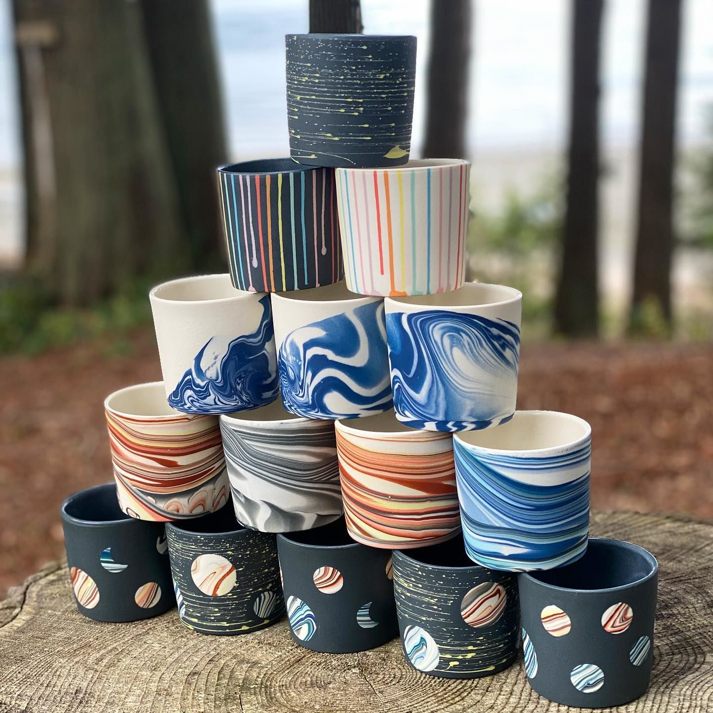 Sean Forest Roberts handcrafts gorgeous porcelain tableware pieces in is his studio on Orcas Island, using an innovative process that he created. (Photo: Forest Ceramic Co.)<br><p></p><p></p><p></p><p></p><p></p>