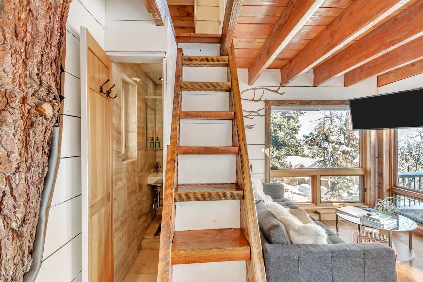 Park City treehouse is Airbnb's most-booked place in Utah. (Airbnb)