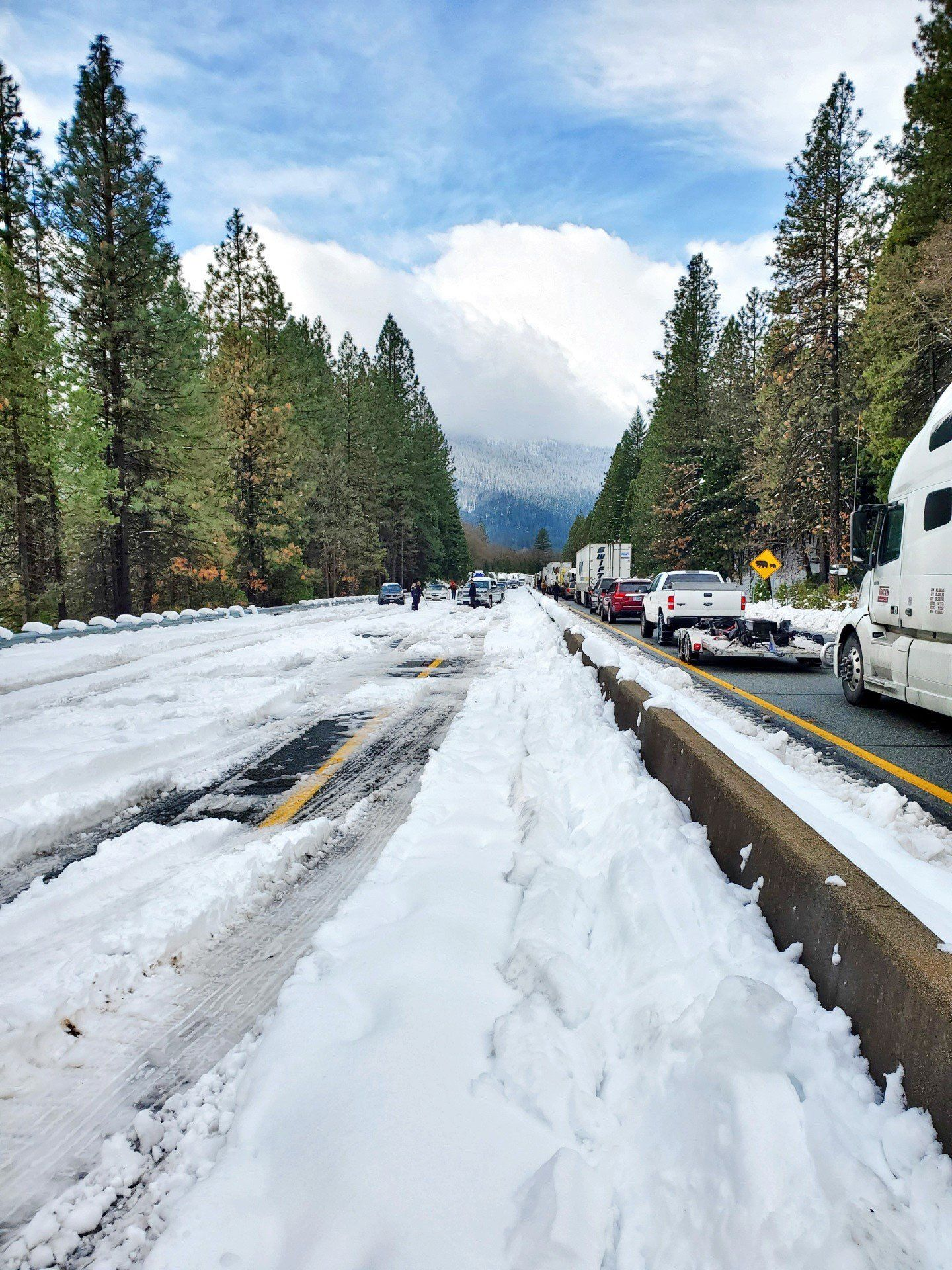 Caltrans and the California Highway Patrol hoped to reopened Interstate 5 northbound by late Wednesday afternoon, November 27, 2019. (Caltrans)<p></p>