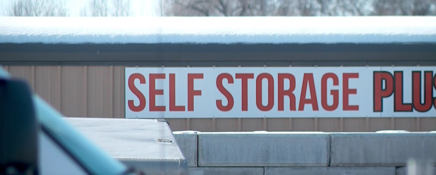 The storage facility in Rexburg, Idaho where police searched a unit rented by Lori Vallow in connection with the disappearance of her two children. (Photo: KUTV)
