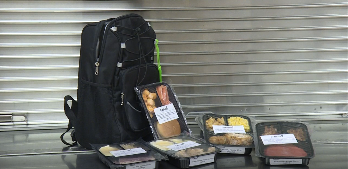 Elkhart schools are teaming up with a South Bend-based food rescue for a pilot program. // WSBT 22 photo