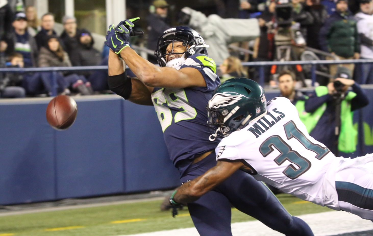 Seahawks play the Eagles at CenturyLink Field in Seattle (Photo: Sy Bean){&nbsp;}<p></p>