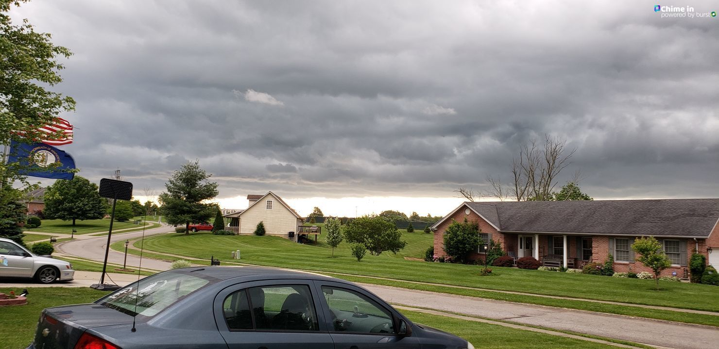 Clouds in Dry Ridge Ky from Lynette Harris