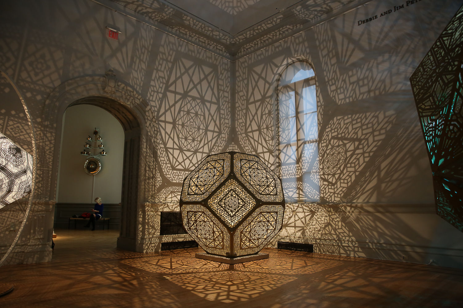 There's nothing quite like Burning Man, but visitors to the Renwick Gallery of the Smithsonian American Art Museum can now get their taste of the Playa. The multi-disciplinary installation is meant for interaction. The exhibits include psychedelic-looking mushrooms that glow and respond to your steps and a room where visitors can lay back and watch digital butterflies float across the screen. There's no shortage of high-tech art too - there's a VR experience and a mobile movie theater inside the gallery. The exhibition opens on March 30 and will run until January 21, 2019. (Amanda Andrade-Rhoades/DC Refined)