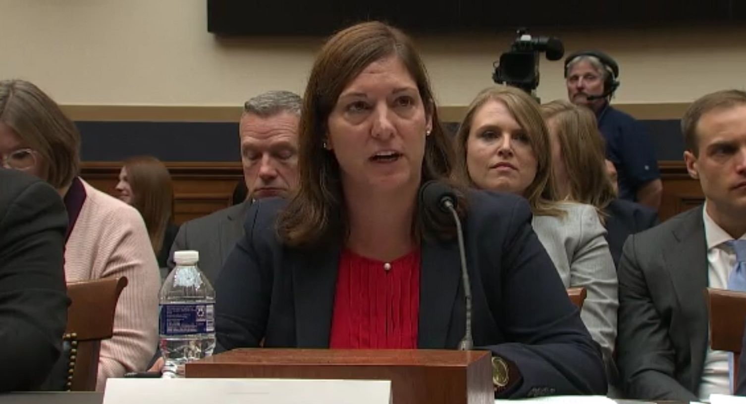 <p>FBI Deputy Assistant Director for Counterterrorism Nikki Floris testifies before the House Judiciary Committee on 2020 election security, Tuesday, Oct. 22, 2019. (Image: CNN Newsource)<br></p>