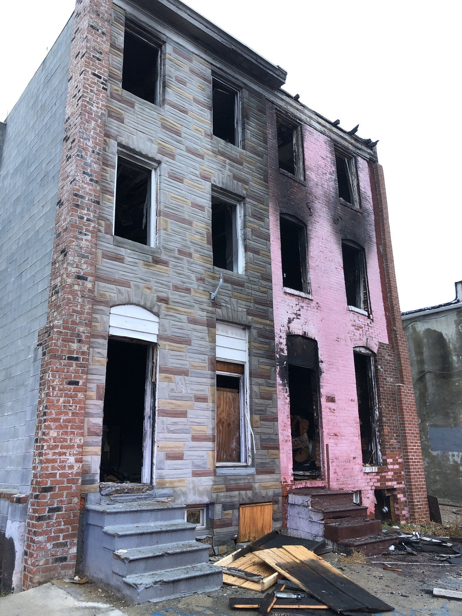4+ fires reported in SW Baltimore