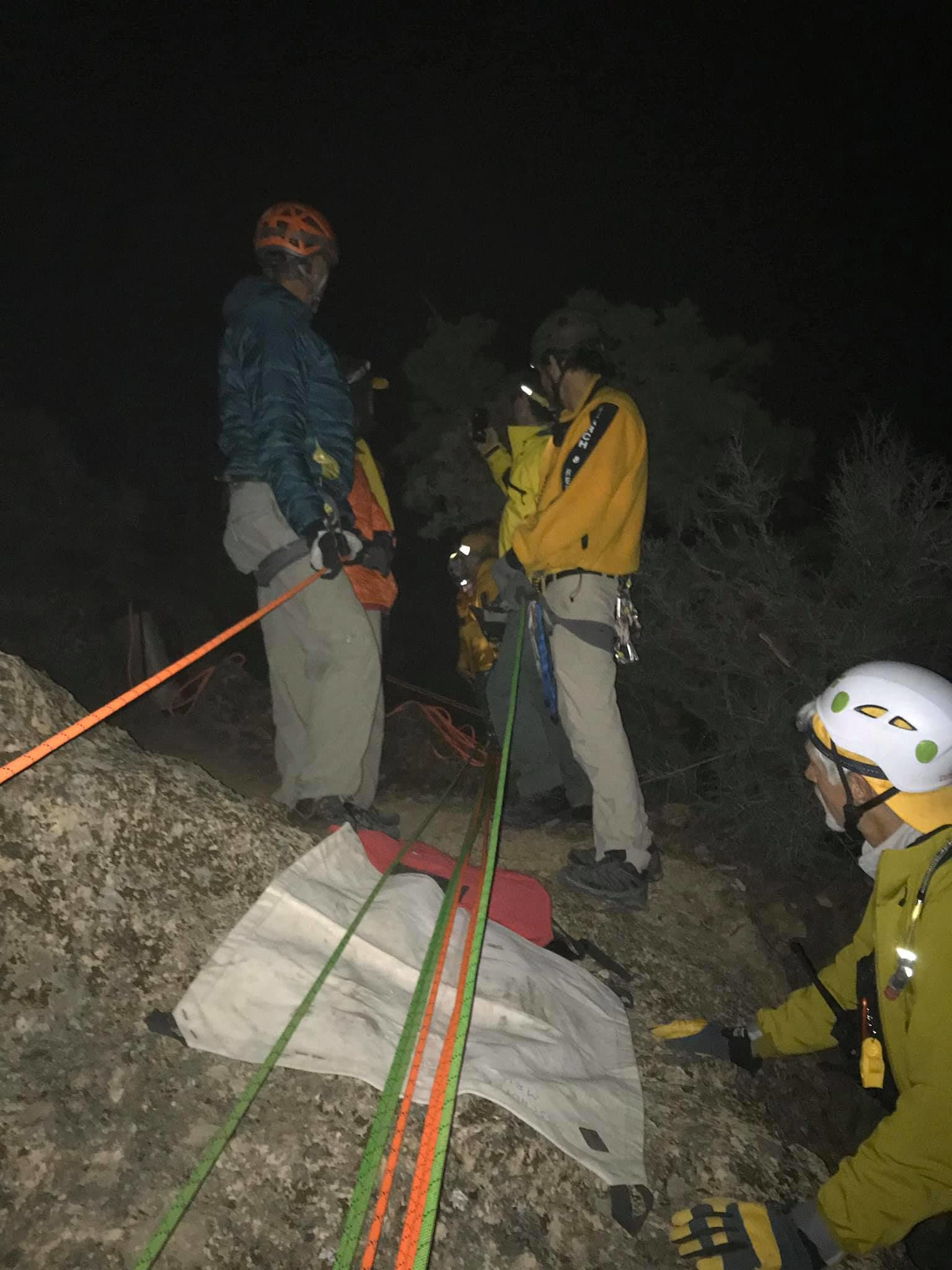 A hiker was rescued at Smith Rock State Park after suffering a long fall (DCS)