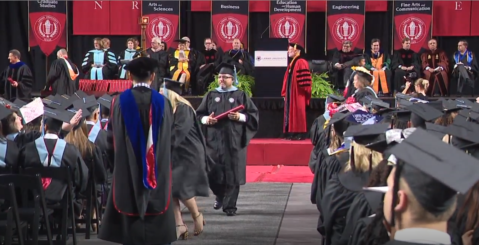 Lamar University summer graduates celebrate commencement