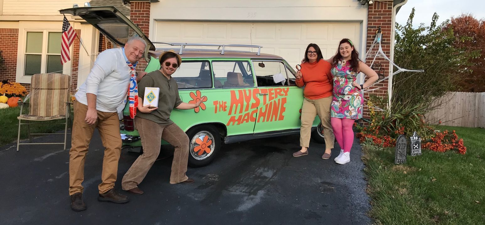The Scooby-Doo Gang from Wilmington OH - Shelby Boatman