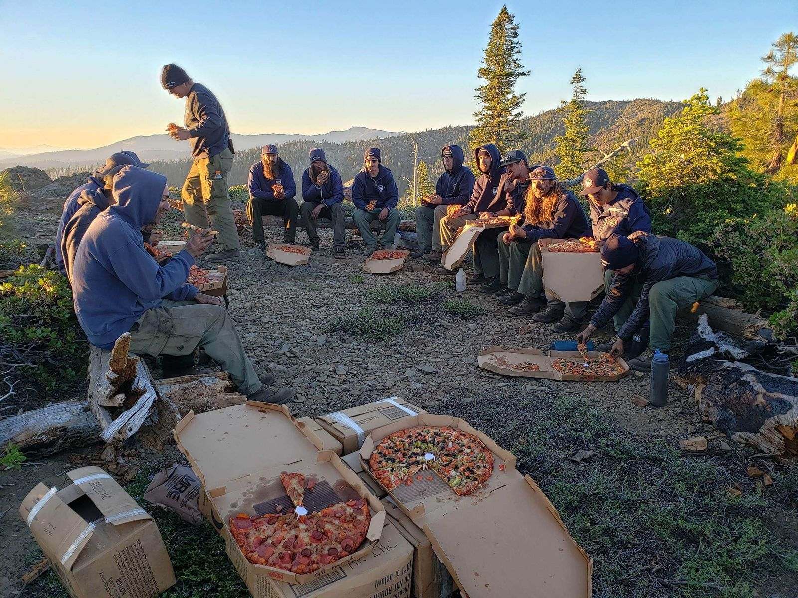 """Dinner Time""{ } -credit US Forest Service, Mendocino National Forest."