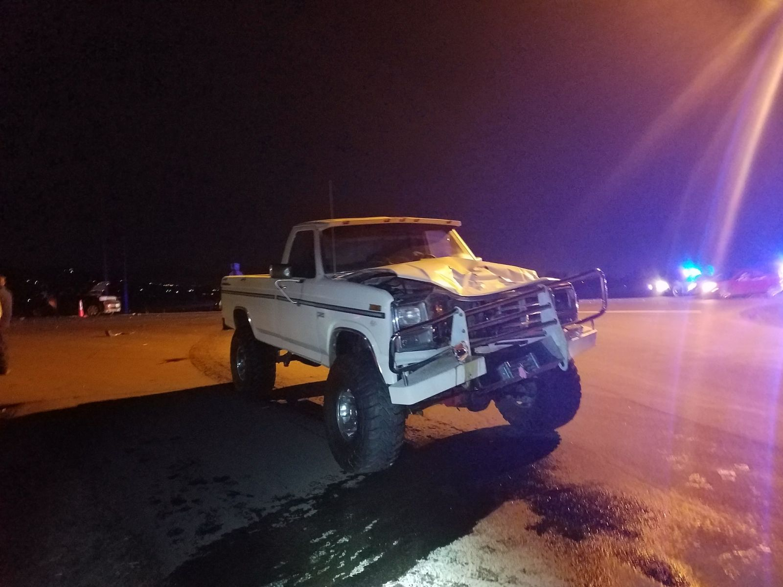 <p>Devyn James Baldovino exchanged 15 text messages in this pickup, including in the minute before the fatal crash. File OSP photo.</p>