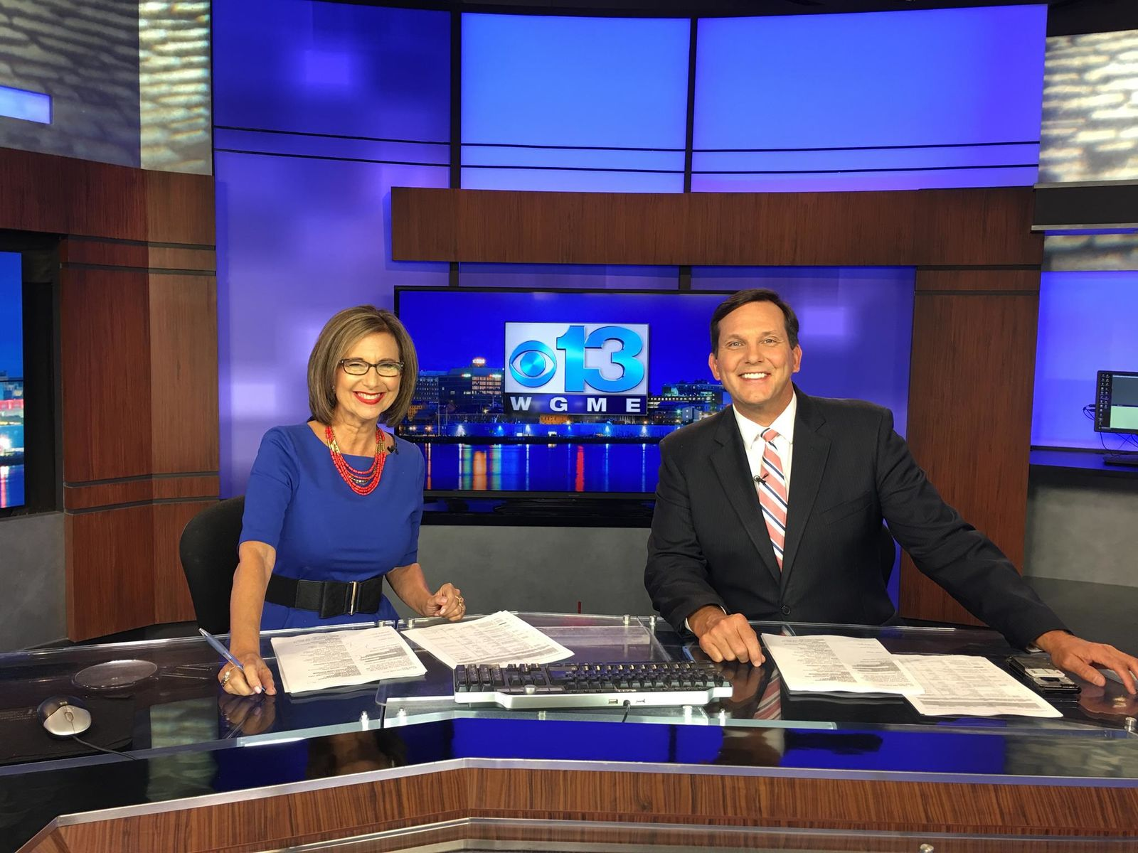 Kim Block and Gregg Lagerquist (WGME)