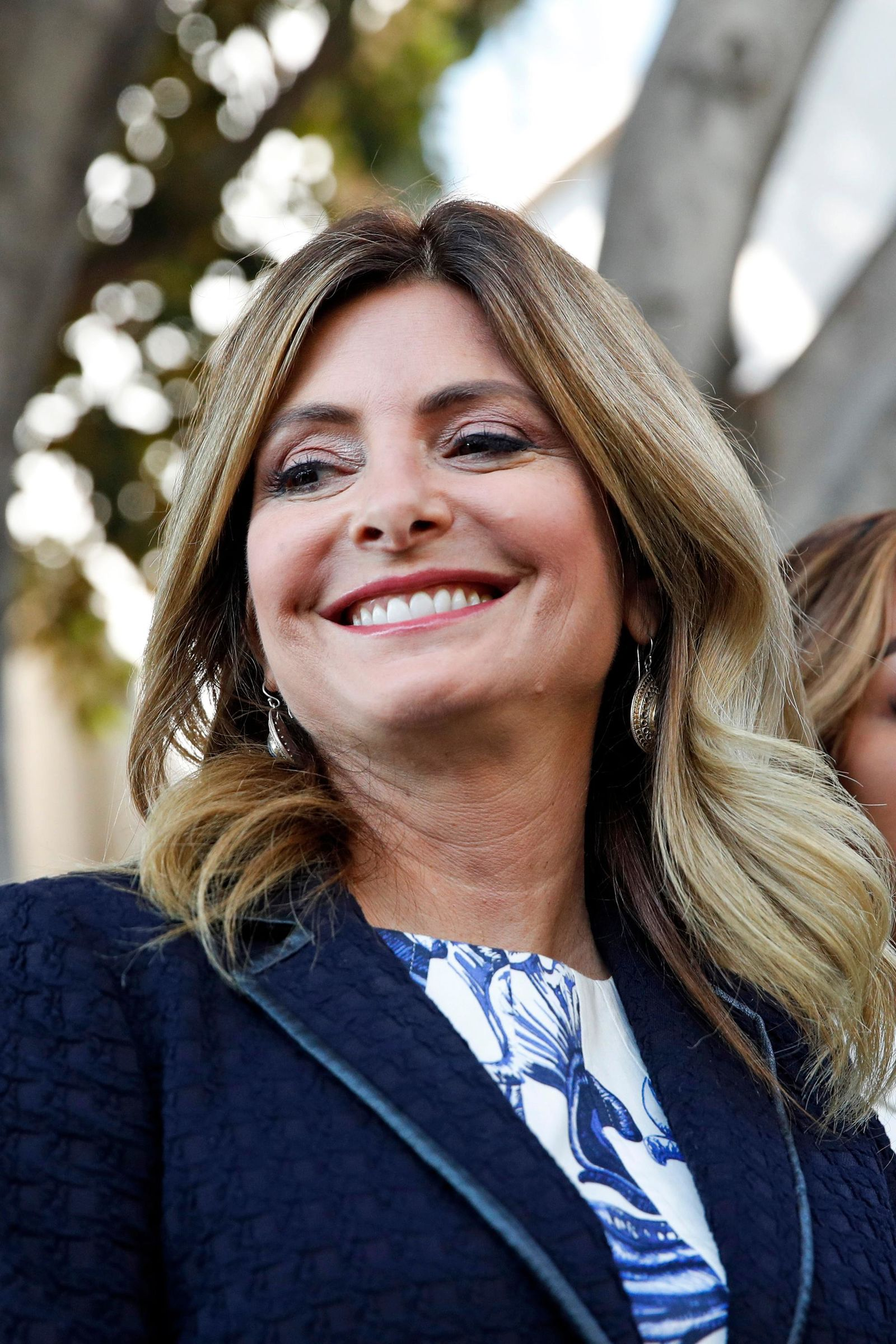 "FILE - In this July 10, 2017 file photo, attorney Lisa Bloom stands outside a courthouse in downtown Los Angeles.  Bloom says she is no longer representing movie mogul Harvey Weinstein as he confronts sexual harassment allegations.Bloom posted Saturday, Oct. 7,  on Twitter that she has resigned as an adviser to Weinstein. She added that he and his board of directors are, quote, ""moving toward an agreement.(AP Photo/Jae C. Hong)"