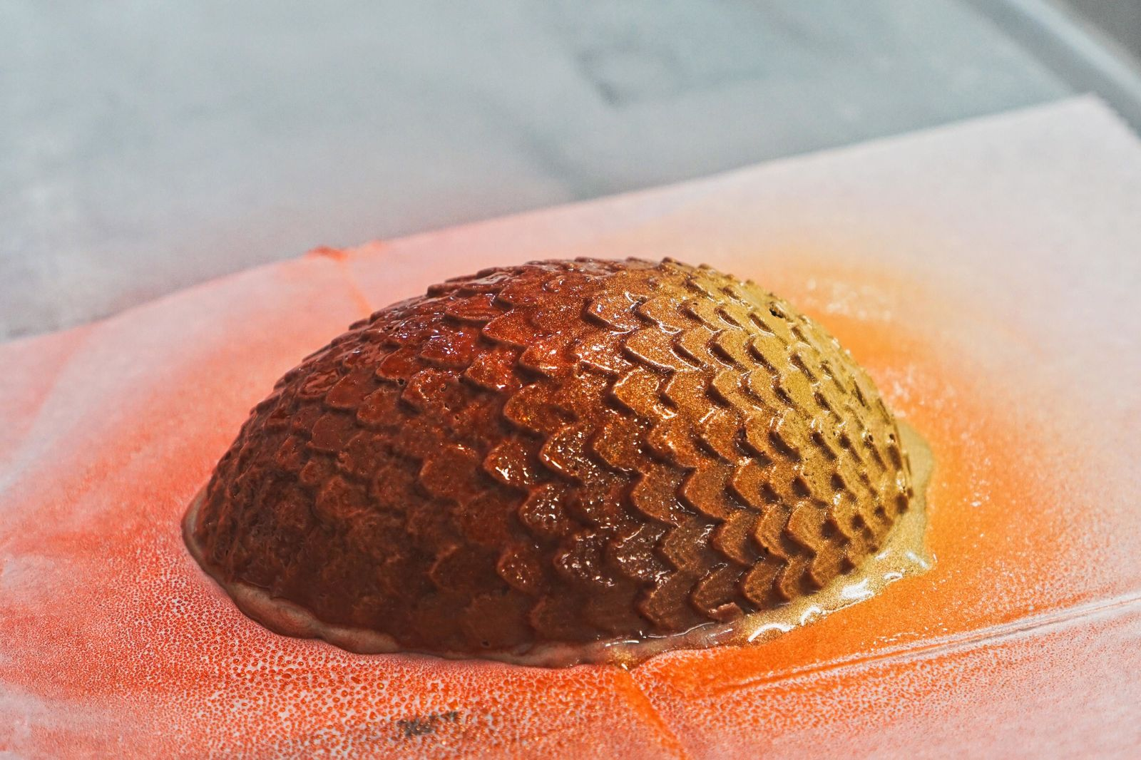 Drogon's egg tastes like spicy hot chocolate.{ }(Photo: Emily Faber, Sinclair Broadcast Group)